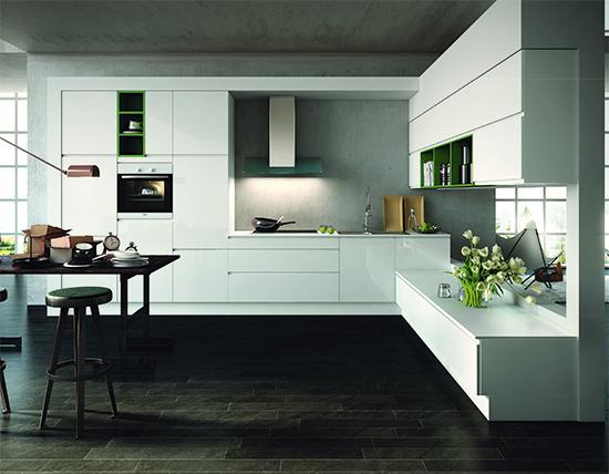 gl nzender auftritt auch ohne griffe das eigene haus. Black Bedroom Furniture Sets. Home Design Ideas