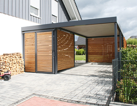 garage carport archive das eigene haus. Black Bedroom Furniture Sets. Home Design Ideas