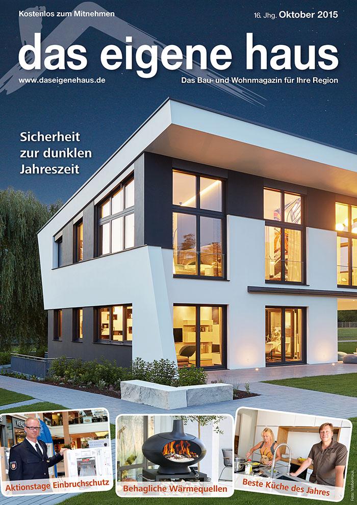 Oktober Ausgabe Das Eigene Haus
