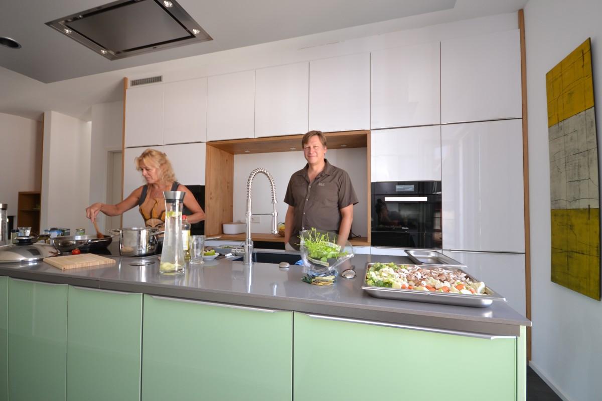 Freistehende Kochinsel - Das eigene Haus