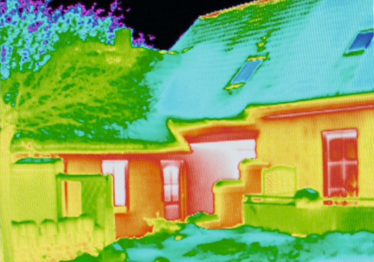 Thermografie Haus