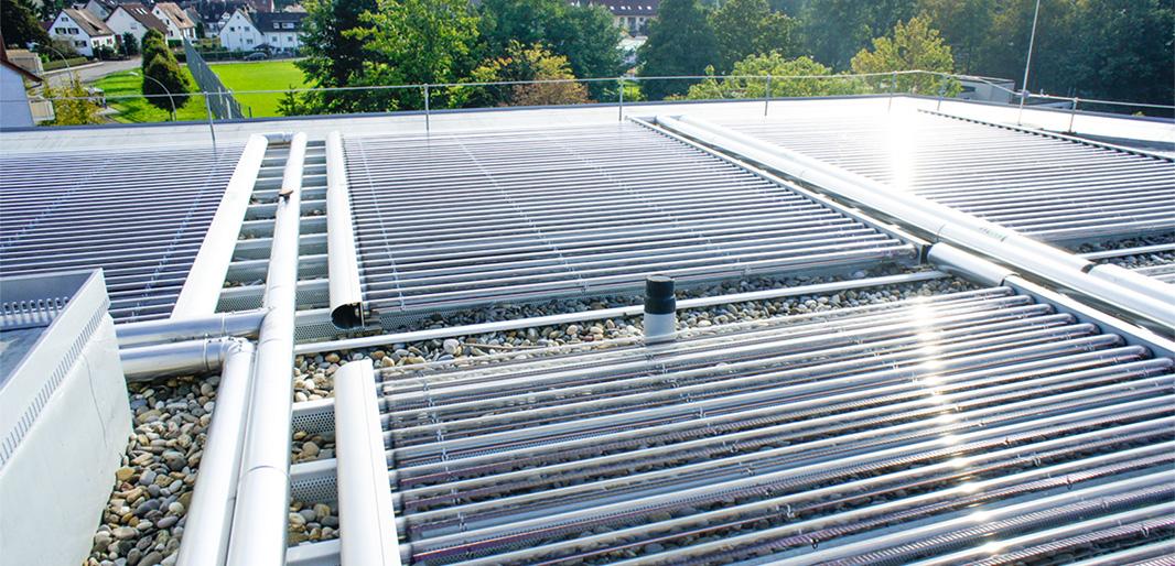 Solarthermie-Röhren