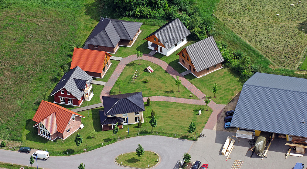 Luftbild Musterpark NOAH