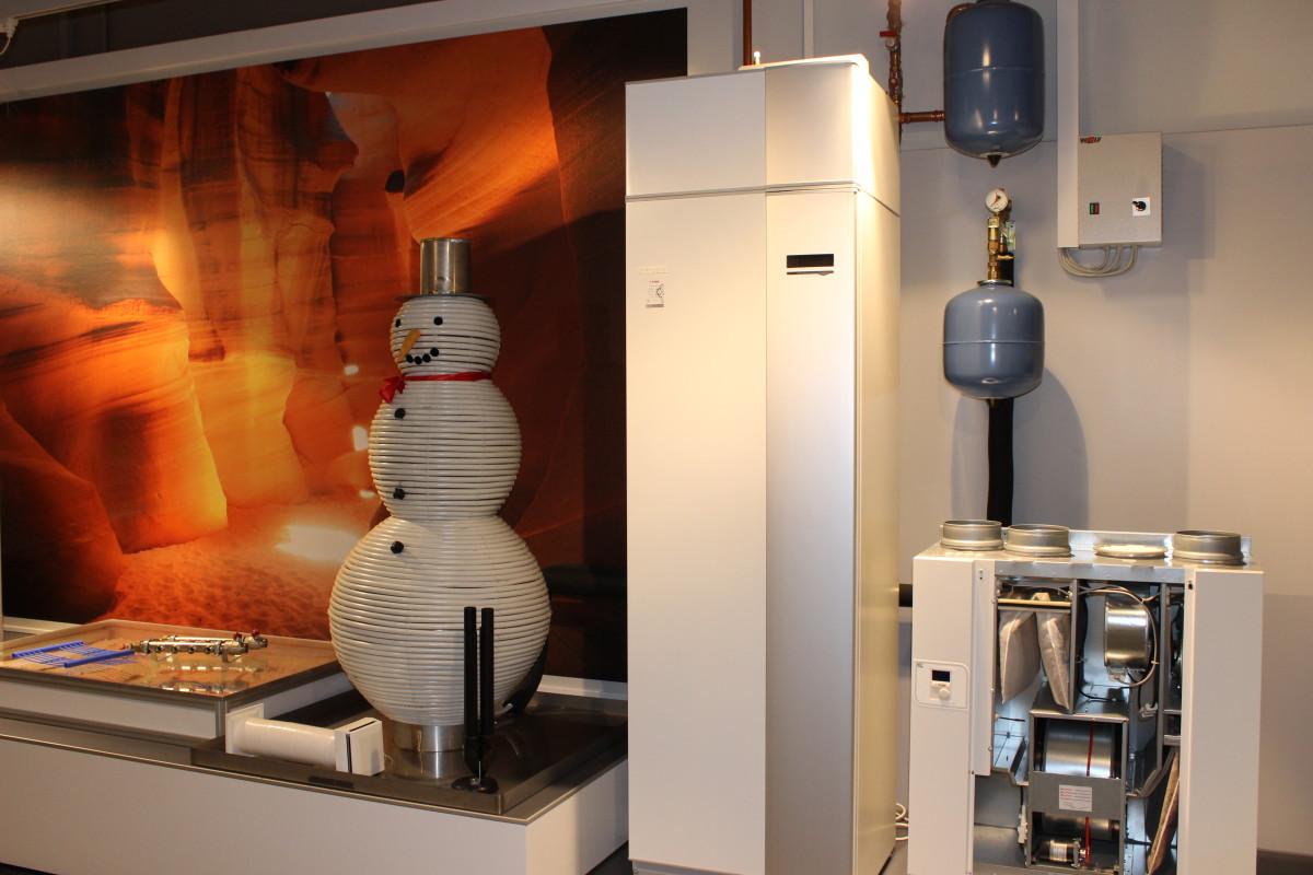 Wärmepumpe In Ausstellung
