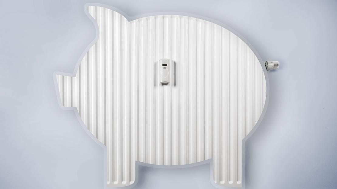 Heizung In Schweinsform