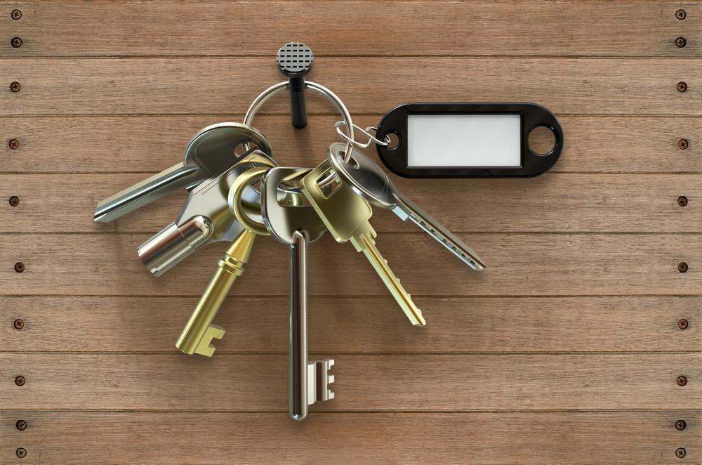 Schlüsselbund Am Nagel