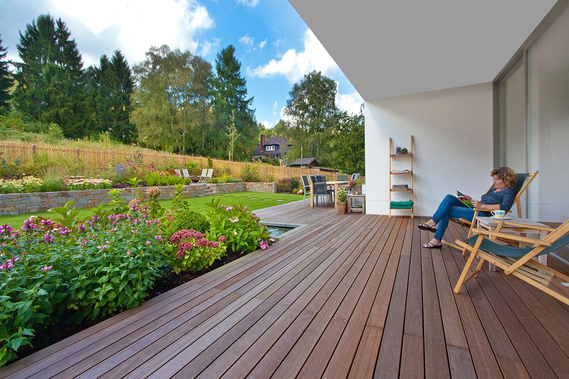 Terrasse Holzdielen