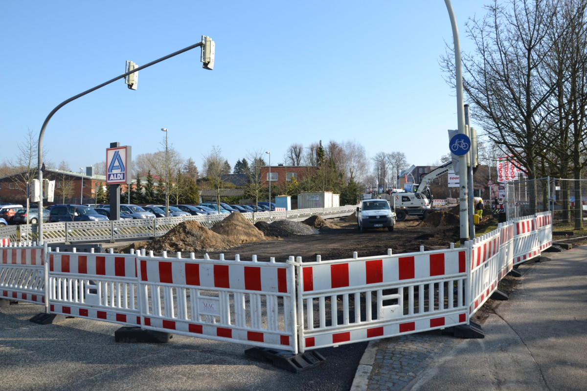 Baustelle Rendsburger Landstraße In Kiel