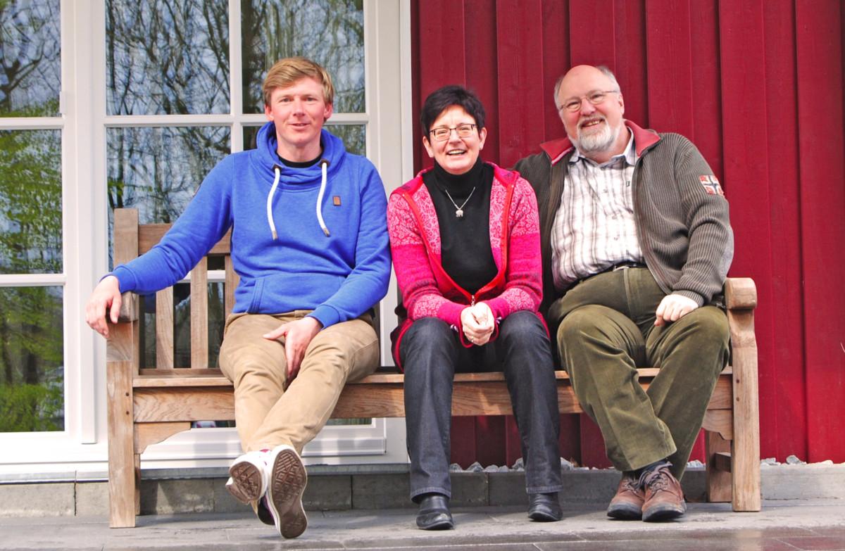 Christoph Jensen Mit Familie Ahlert
