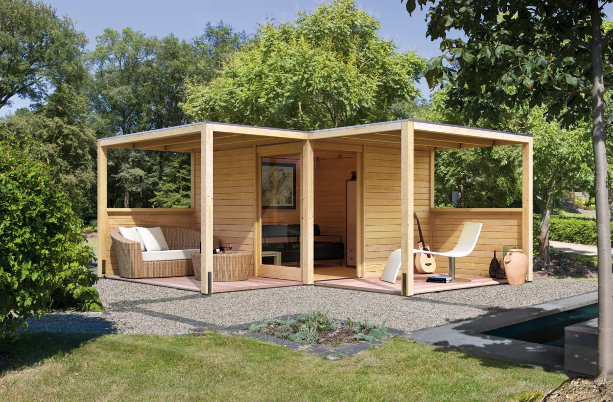 Langlebige Gartengestaltung in Holz - Das eigene Haus