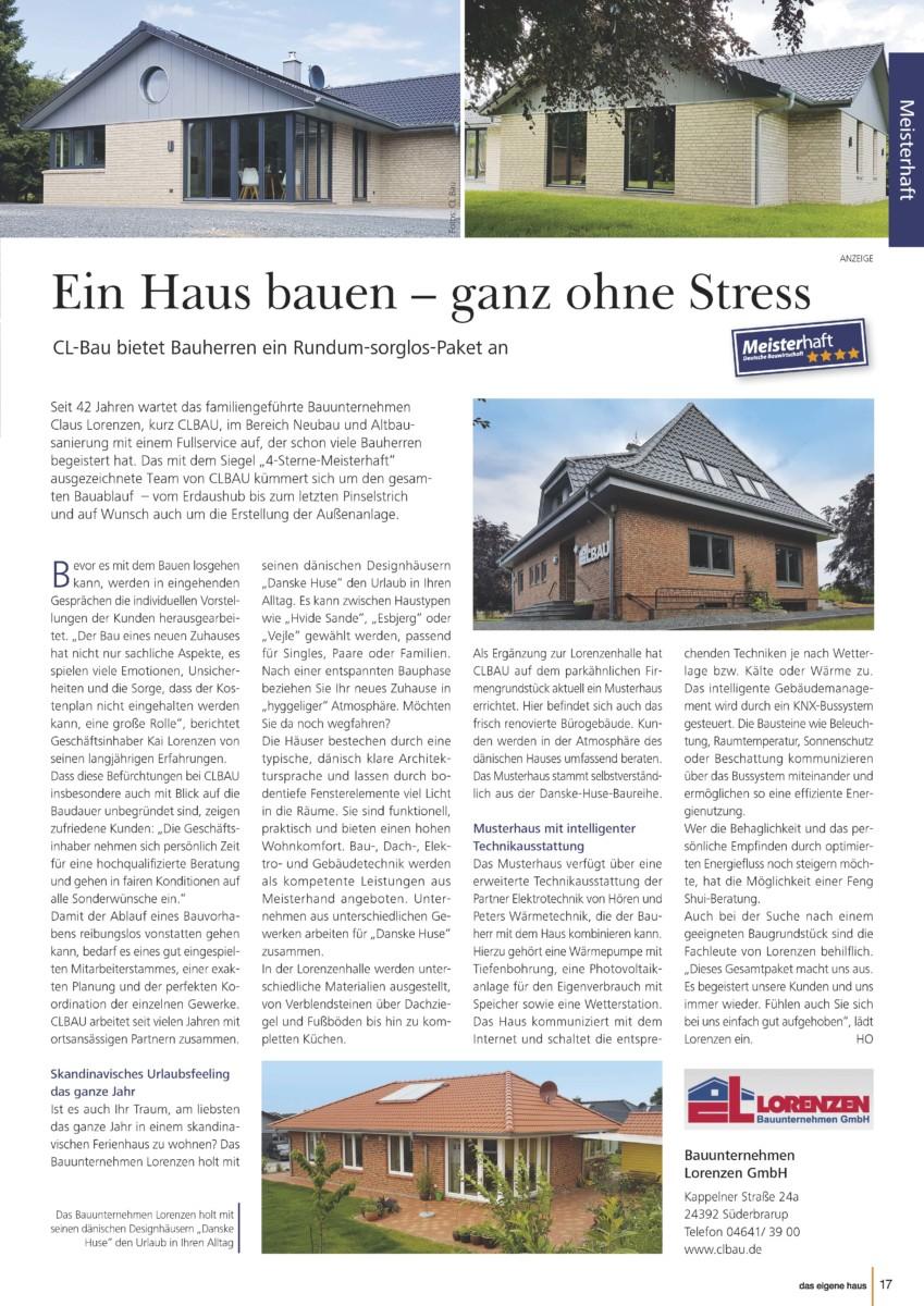 Pressetextanzeige Aus Dem Magazin Von Lorenzen