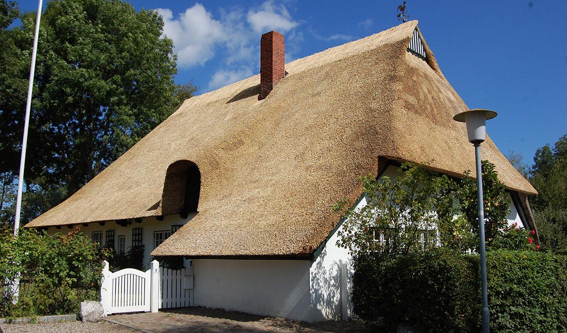 Haus Mit Schönem Reetdach
