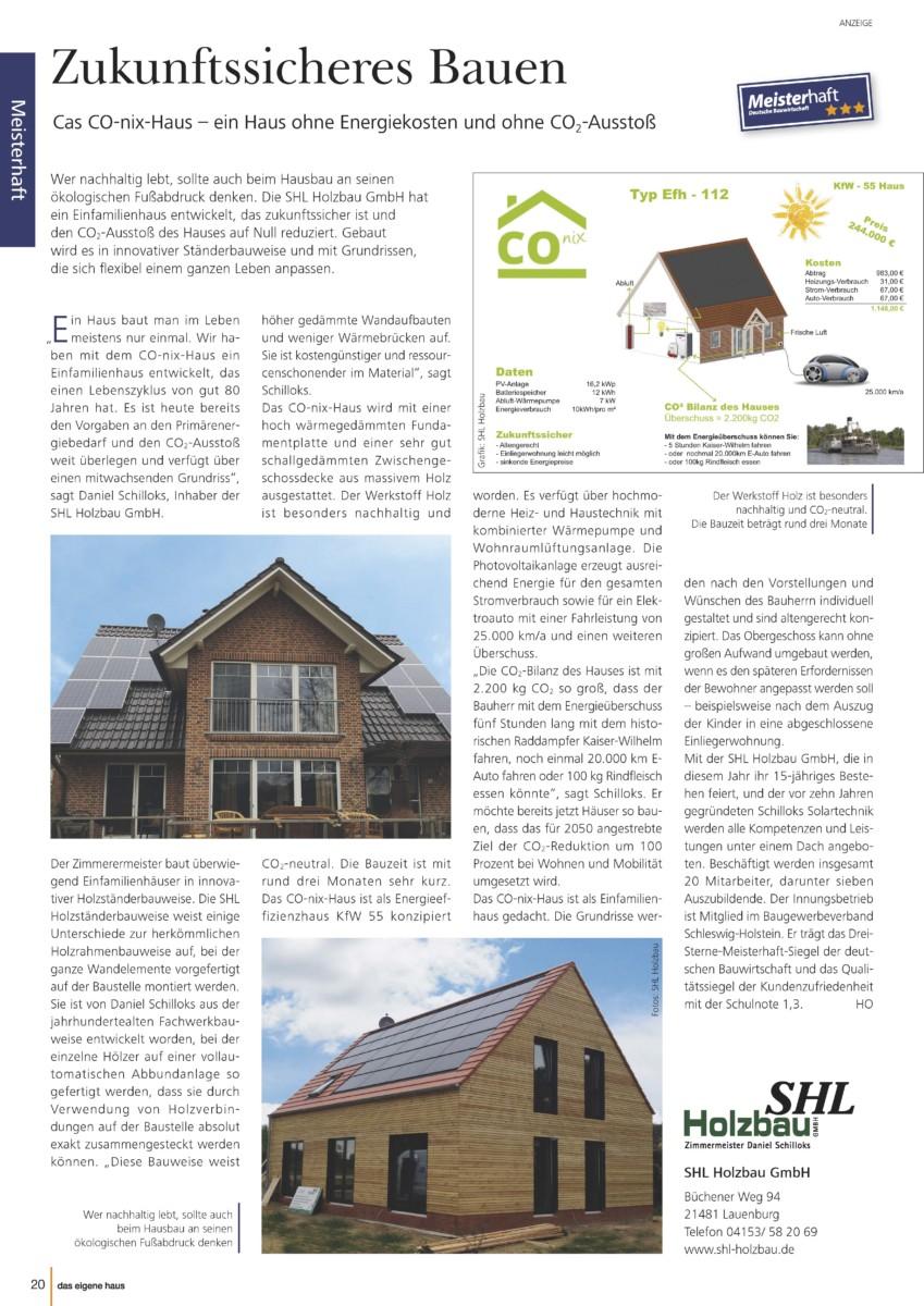 Pressetextanzeige Aus Dem Magazin Von SHL Holzbau
