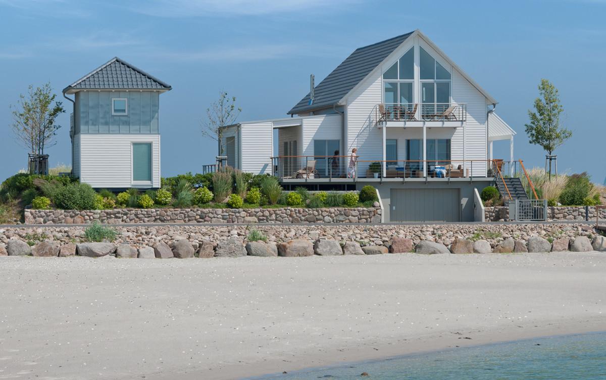 Holzhaus Vom Strand Aus