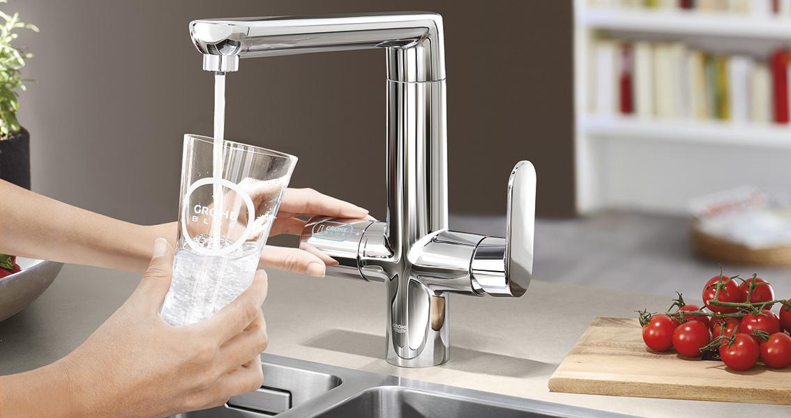 Wasserhahn, System Grohe