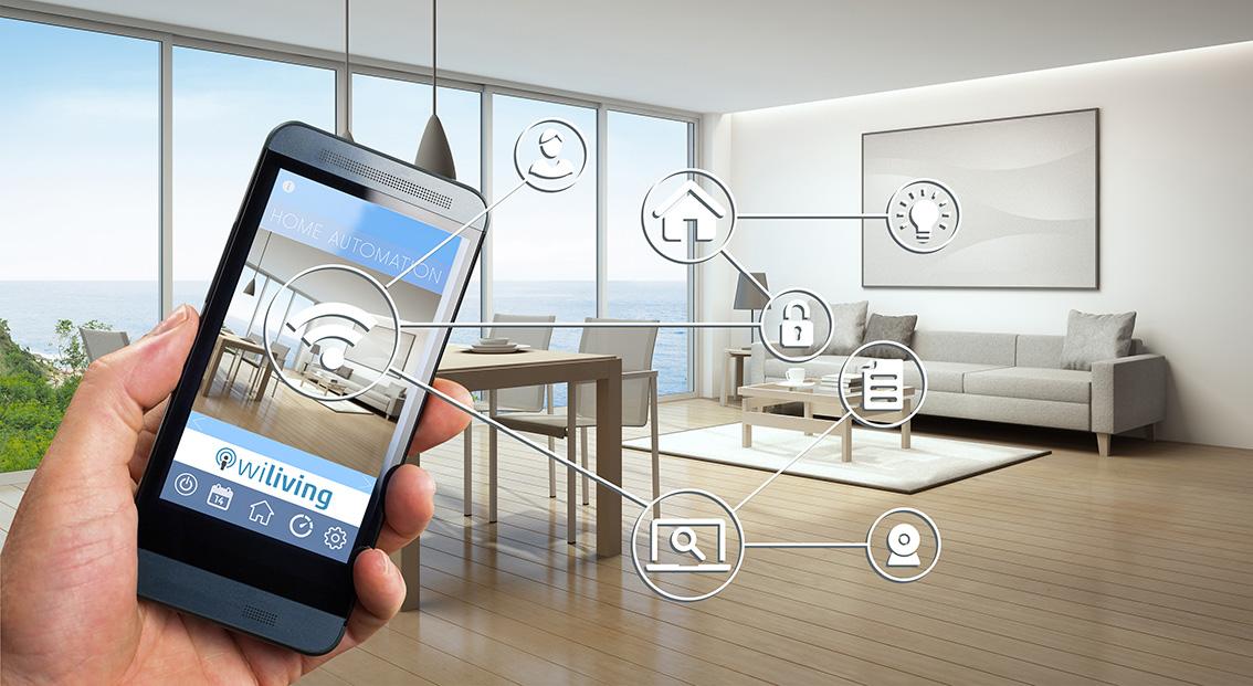 SmartHome Im Wohnzimmer