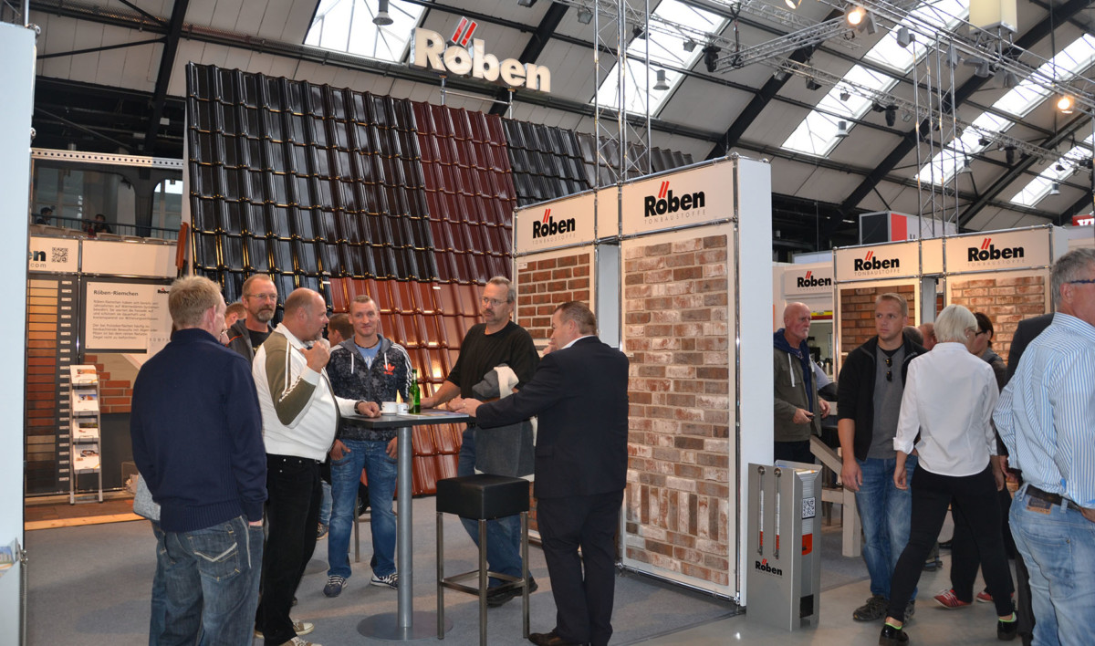 Messestand Röben