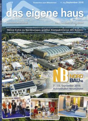 September Ausgabe 2016, NordBau
