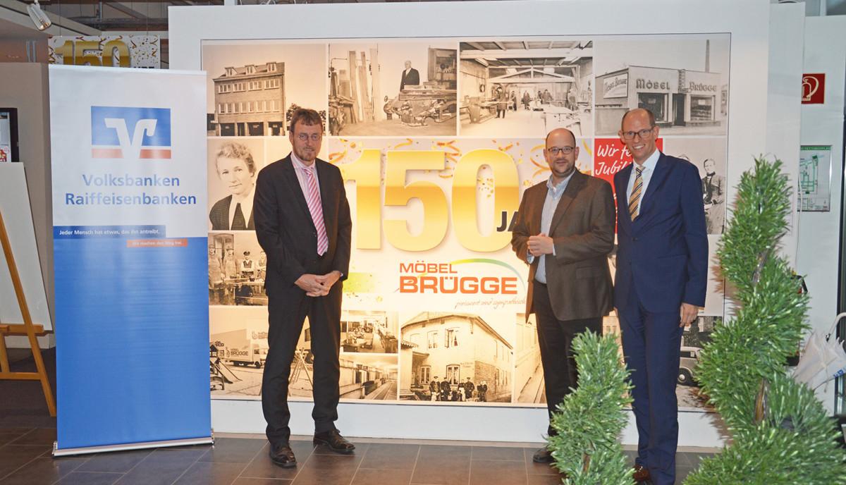 150-jähriges Jubiläum Volksbank