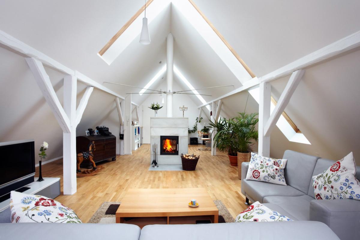 Dachboden Ausgebaut