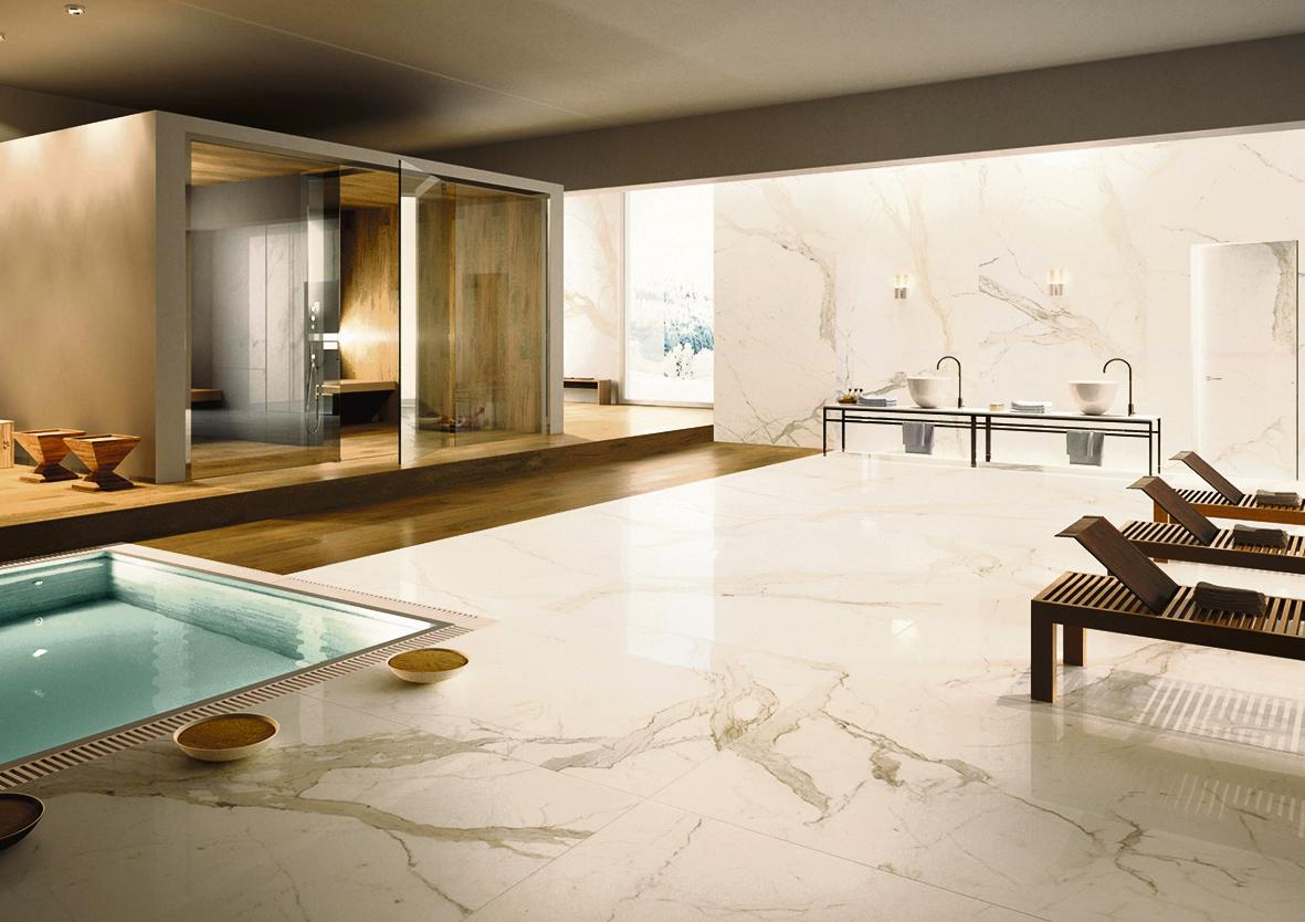 Schöner Fußboden