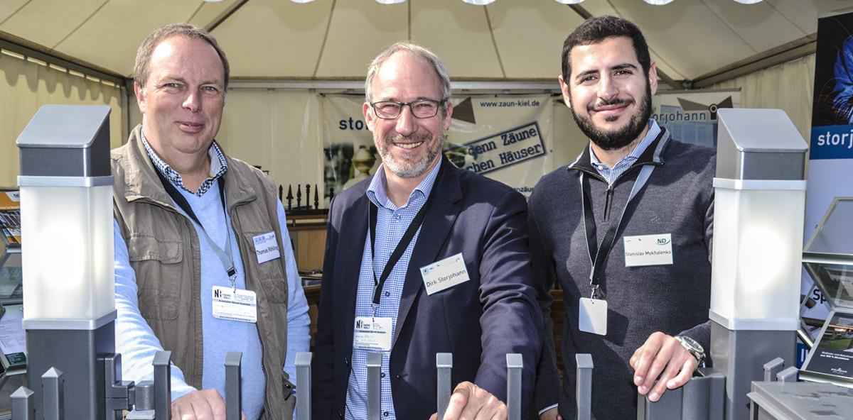 NordBau Messe-Hingucker:  Aluzäune Von ZAUNZAR