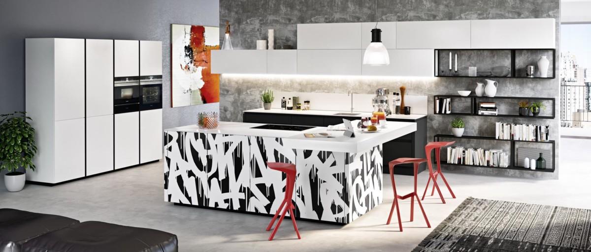 Schöne Wohnküche