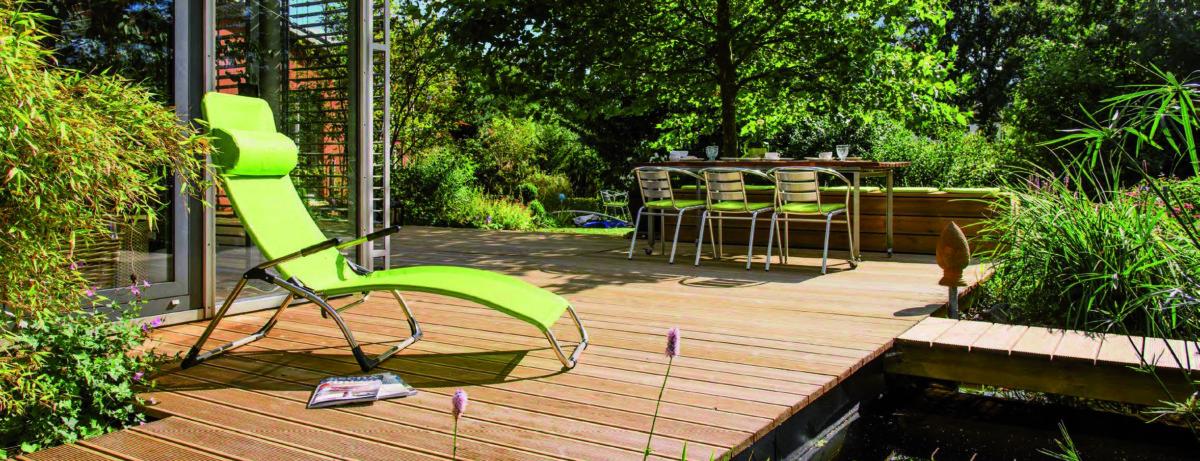 Langlebige Gartengestaltung In Holz