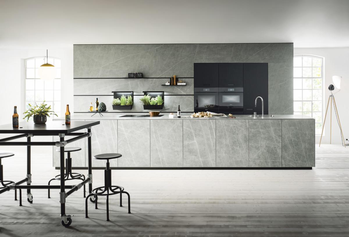 Eine Küche Ist Der Treffpunkt Des Hauses