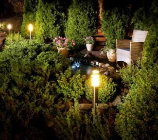 Anmutende Außenbeleuchtung für Haus und Garten