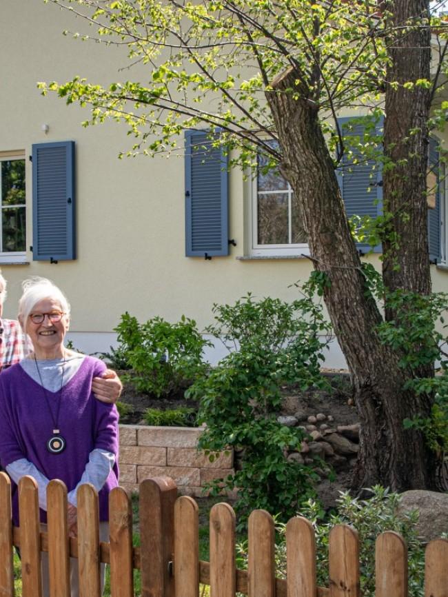 Mit über 80 durchgestartet – in einem Bungalow Usedom